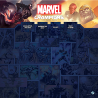 Game mat Marvel champions play mat